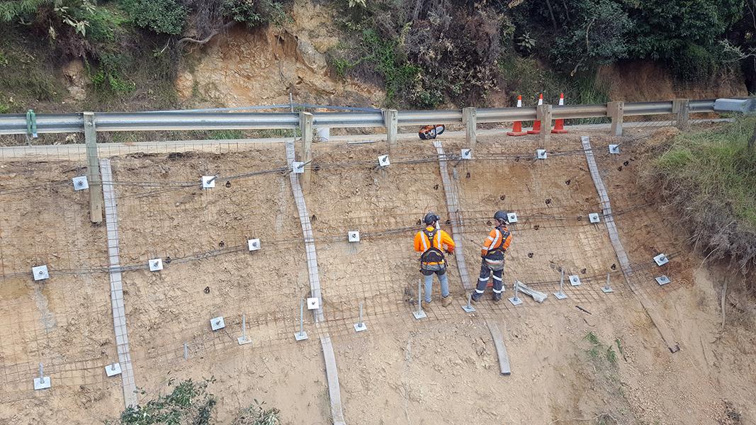 Kawakawa and East Coast Road Dropout Repairs