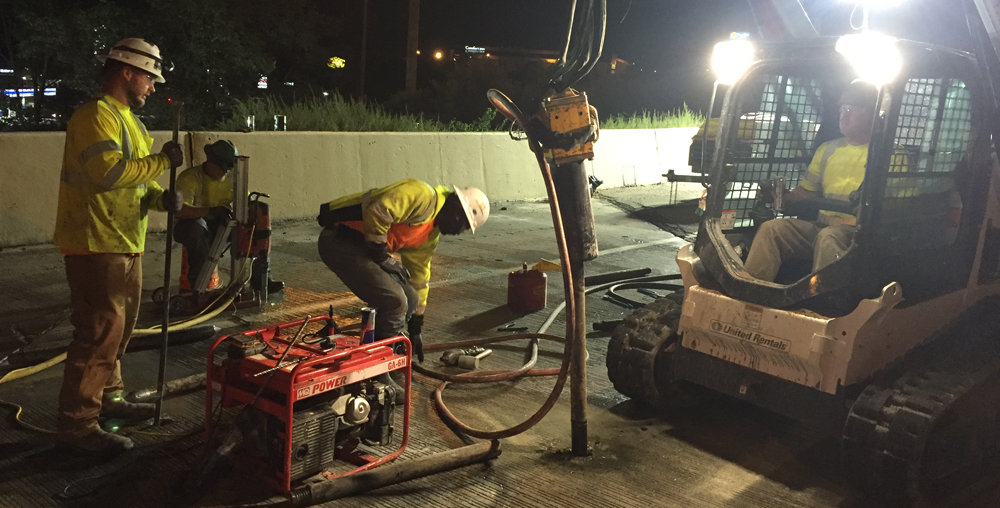 Compaction, Polyurethane, Slurry, and Chemical Grouting