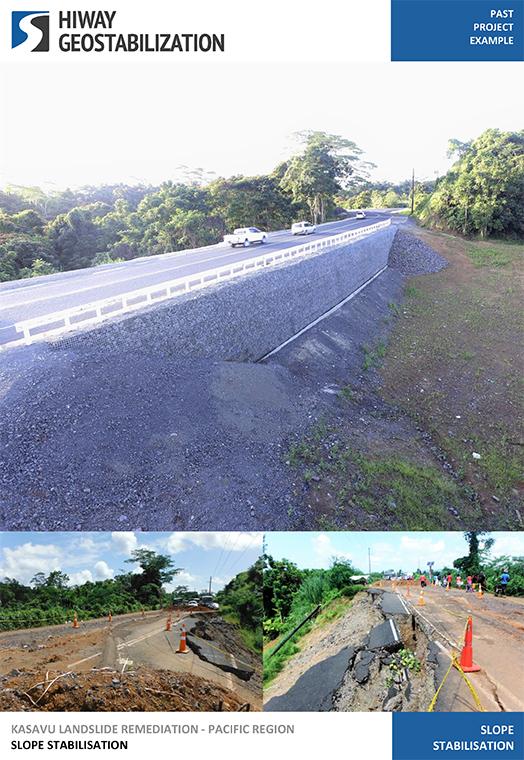 Kasavu Landslide Stabilisation