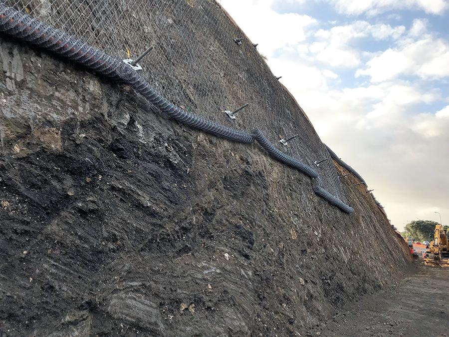 AMETI Eastern Busway Retaining Walls