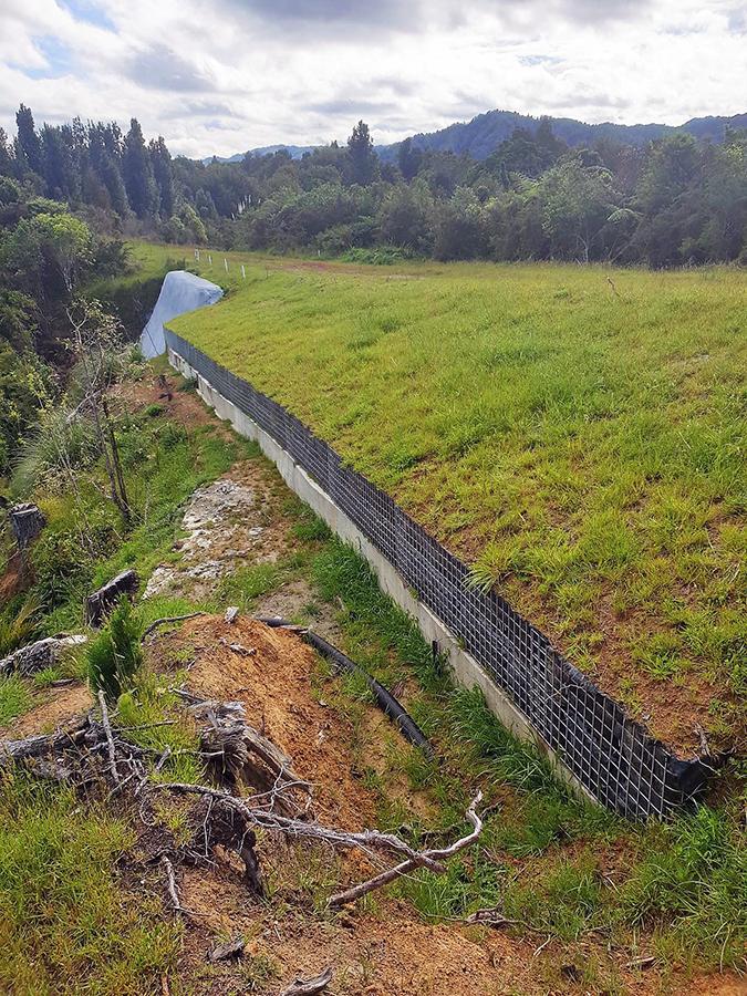 Awakau Road Slope Stabilisation