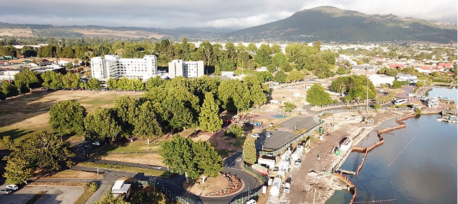 Rotorua Lakefront In-situ Mass Stabilisation
